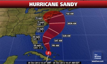 Sandy is Coming! Stay Prepared and Informed!