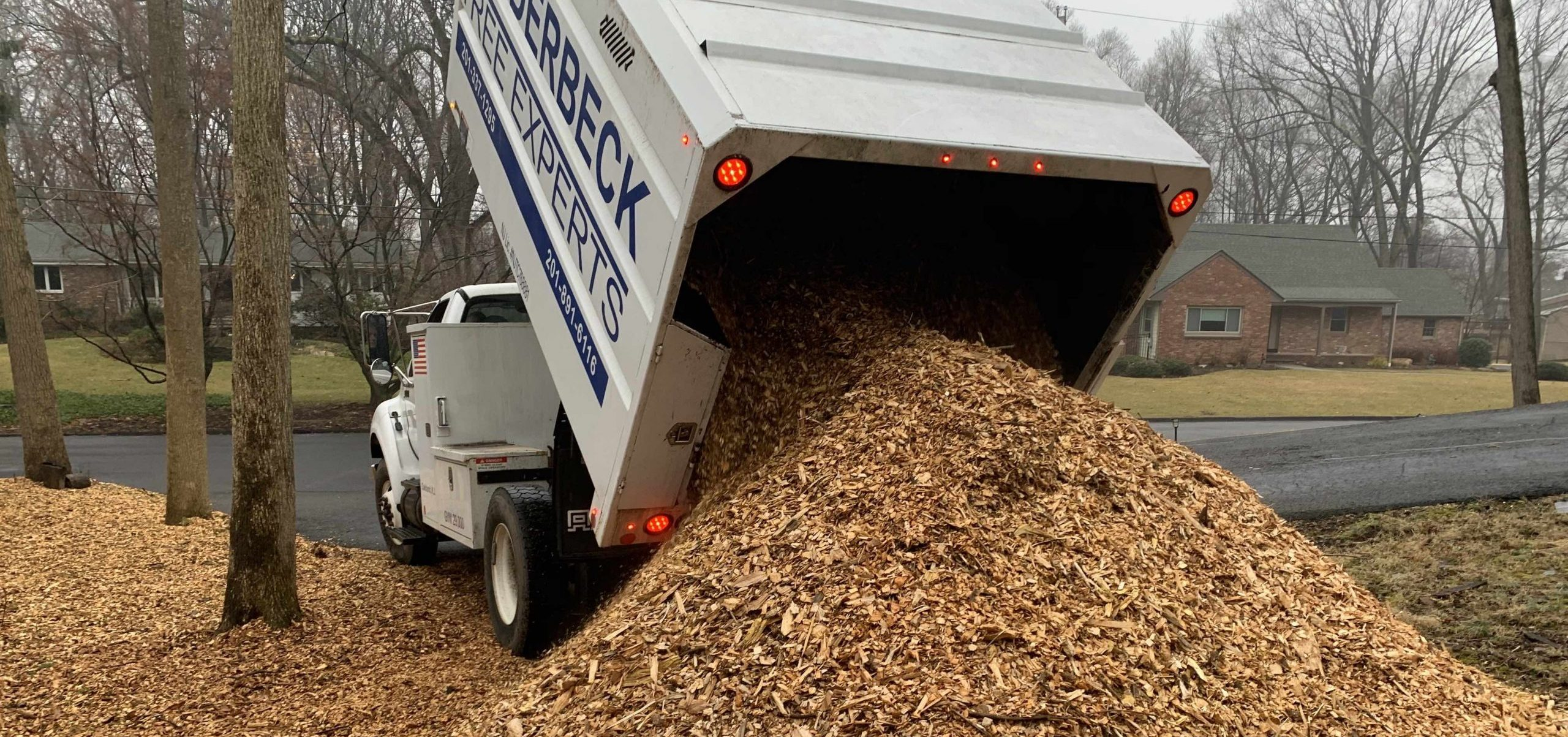 FREE Wood chip Delivery!